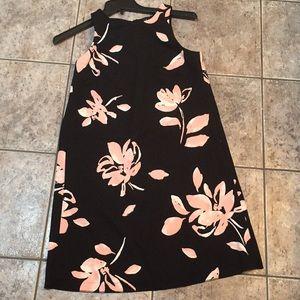 Lauren Shift Floral Sleeveless Dress